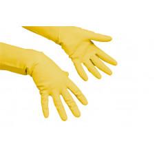 Перчатки латексные Vileda Многоцелевые, XL, желтые, 1пара, арт. 102591