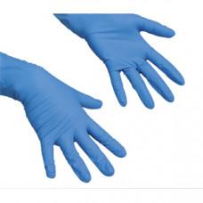 Перчатки латексные Vileda Многоцелевые, S, синие, 1 пара, арт. 100752