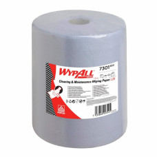 Салфетки в рулоне Wypall L20 Extra+, 500 листов 38 х 33 см, 2 слоя, арт. 7301