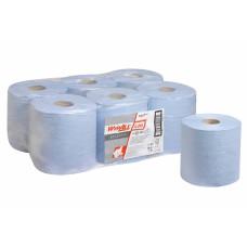 Протирочный материал в рулонах WypAll L20 Essential однослойный голубой (6 рулонов по 400 листов), арт. 7277