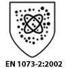 EN 1073-2:2002. Защита от проникновения радиоактивной пыли.