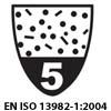EN 13034:2005. Тип 6. Ограниченная защита от брызг.